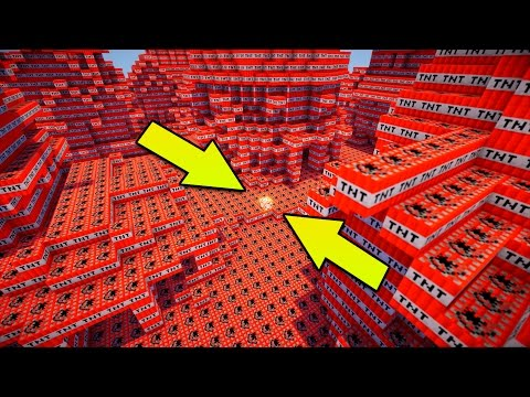 Thumbnail: 100,000 TNT VS COMMAND BLOCK | Minecraft