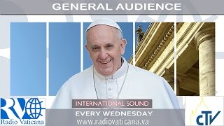 Pope Francis General Audience 2016.10.19