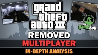 GTA III - Cut Multiplayer [Beta Analysis]