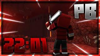 I beat Dream's Speedrun Record | Minecraft 1.14 RSG in 22:01