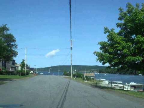 A SUMMER DRIVE THROUGH BADDECK, CAPE BRETON, NOVA SCOTIA