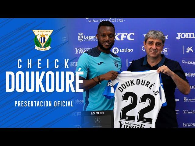 🎙 Presentación de Cheick Doukouré como jugador del C.D. Leganés