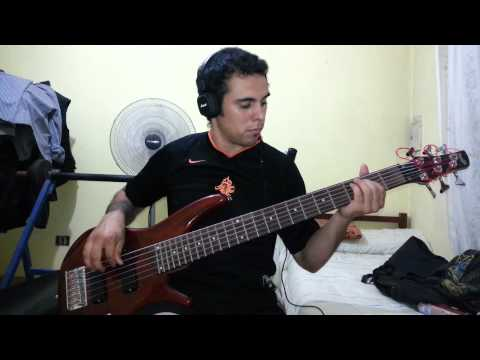 IRON MAIDEN - The Pilgrim. Bass Cover by Samael.