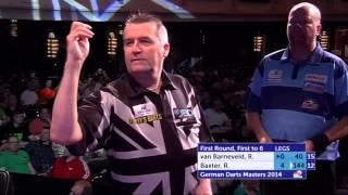 German Darts Masters 2014 First Round Raymond van Barneveld v Ronnie Baxter