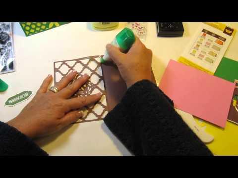 Simple Cards Cricut Art Cartridge Series Episode 1 - Cards 1 & 2