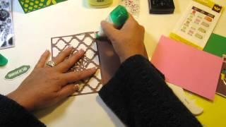 simple cards cricut art cartridge series episode 1 cards 1 2