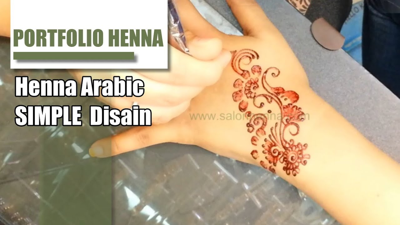 Video Membuat Henna Simple Makedes Com