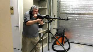 Firing Demo of a MG-13 by AdeQ Firearms Company