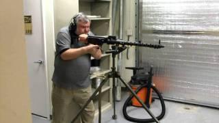 Firing Demo of a MG-13 by AdeQ Firearms Company
