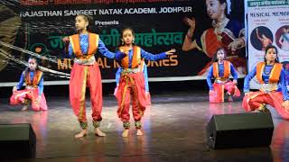 Indian khatak Classical Dance on Shiva Song: JSMV 30 Dec 2019