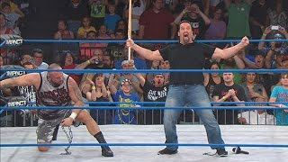 Tommy Dreamer Returns to TNA IMPACT WRESTLING! (July 10, 2014)