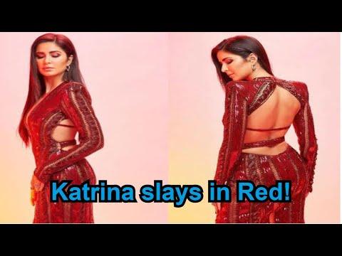 IIFA Green Carpet: Katrina Kaif flaunts her chiselled back in red Mp3
