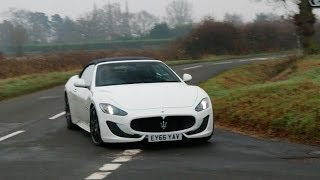 [My Next Car] Maserati GranCabrio S Test Drive