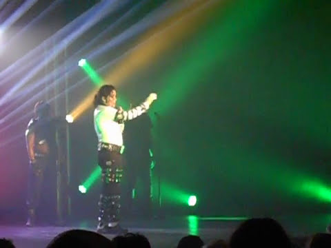 MICHAEL JACKSON LC JACKSON KING OF POP SHOW LIVE