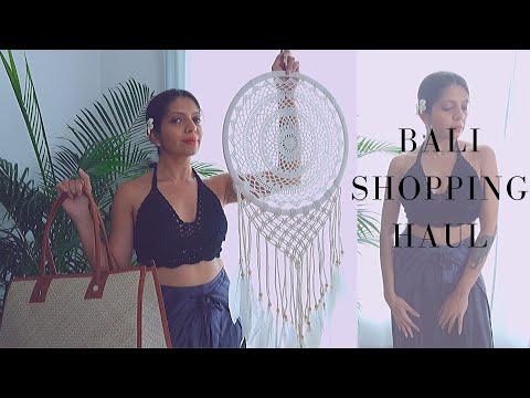 Bali Shopping Haul : Asia's shopping Paradise (unbelievably cheap)