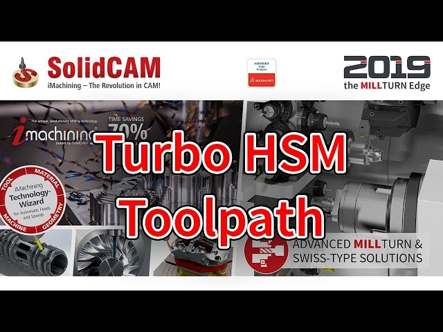 Introductory Video 14a Turbo HSM Toolpath