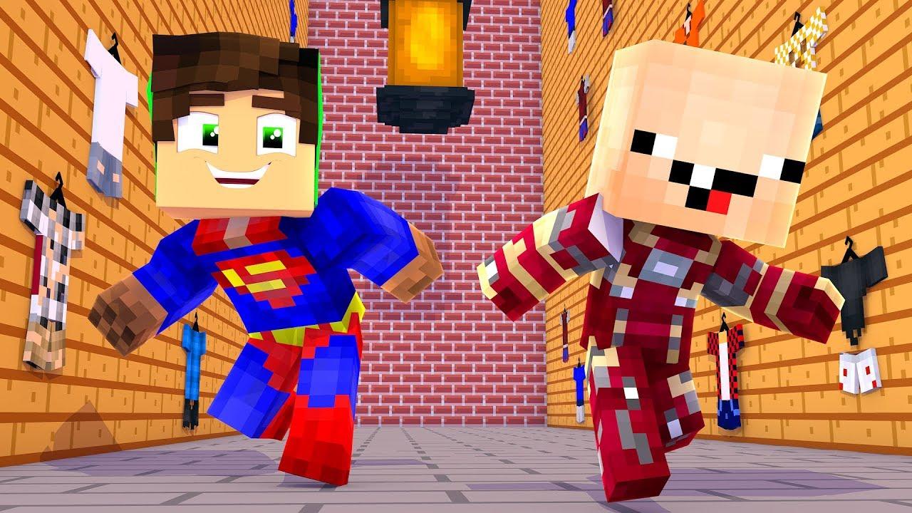 Герои в майнкрафте мультик