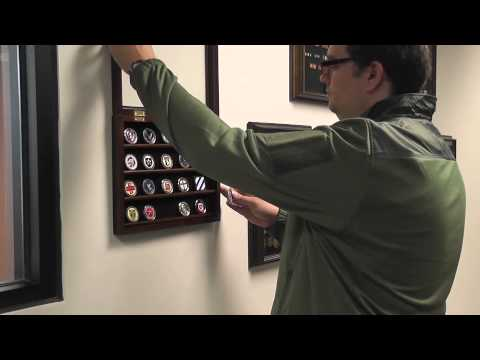 Challenge Coin Case Wall Mount Youtube