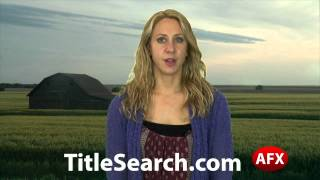 Property title records in Harvey County Kansas | AFX
