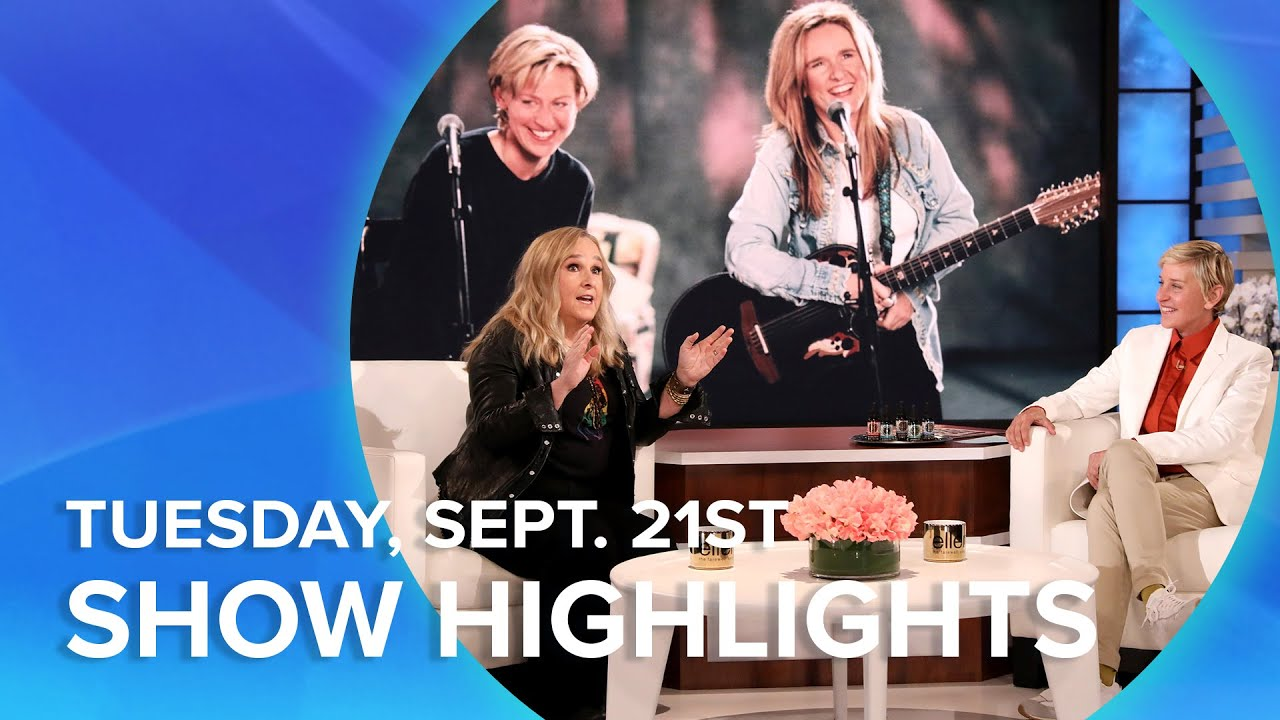 Melissa Etheridge, Loni Love, and More! | Highlights From Tuesday, September 21st