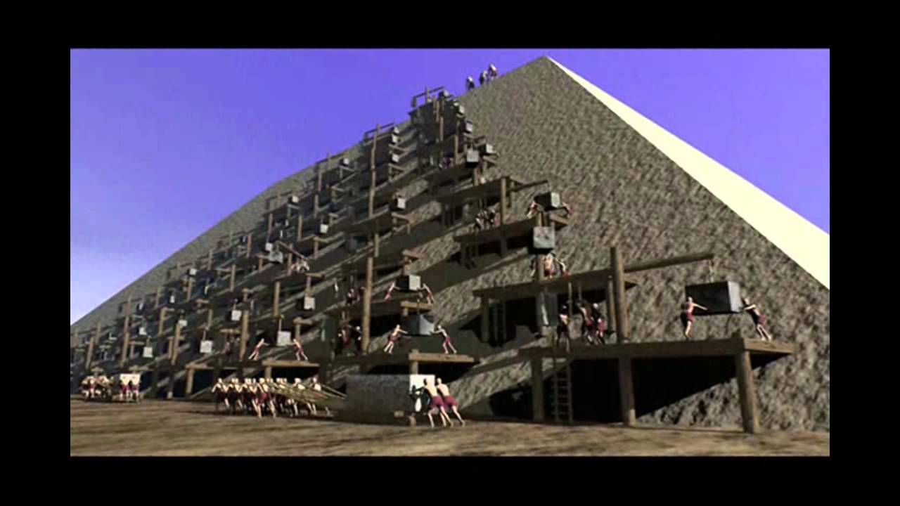 how the great pyramid of ancient egypt were really built Slaves didn't build pyramids: egypt says when the great pyramids were built on the fringes of though they were not slaves, the pyramid builders led a life.