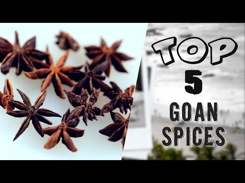 Top 5 Spices In Goa || Goan Food || Goa || Indian Spices || India Food Network