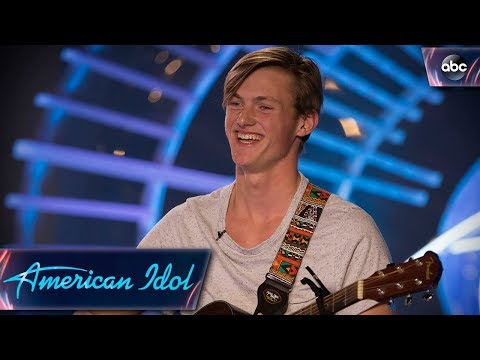 Jonny Brenns Auditions for American Idol With Original Love Song  American Idol 2018 on ABC