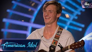 Jonny Brenns Auditions for American Idol With Original Love Song - American Idol 2018 on ABC streaming