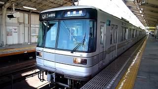 東京メトロ 日比谷線 03系 04編成 南千住駅