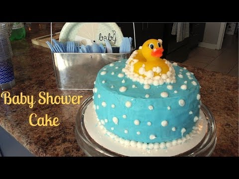 Diy Baby Shower Cake Gender Neutral Easy Youtube