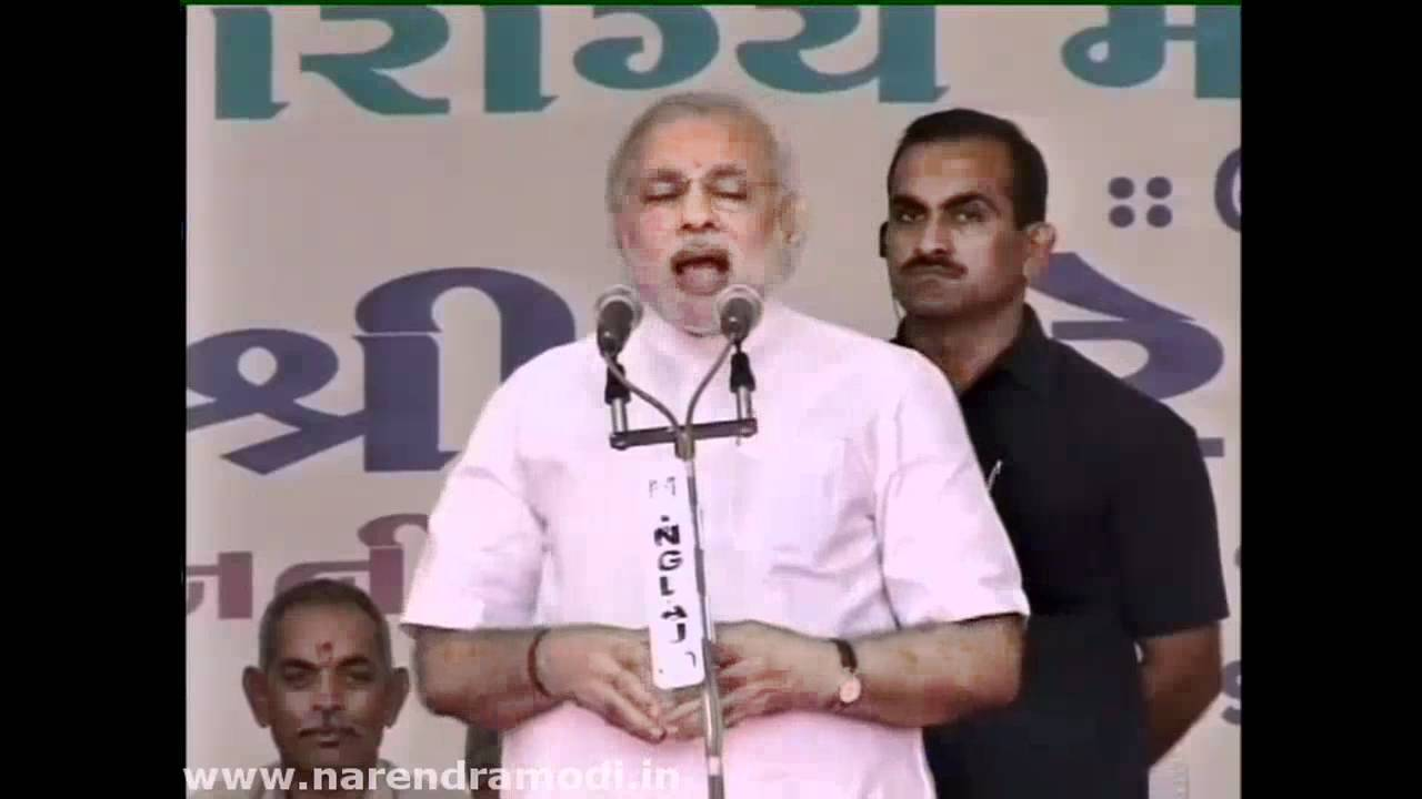 Botad, Manavadar are special to my heart says Narendra Modi