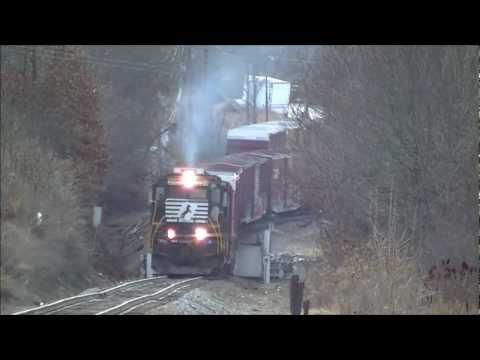 NS P59 Working Hard in Waynesville NC 1/12/13