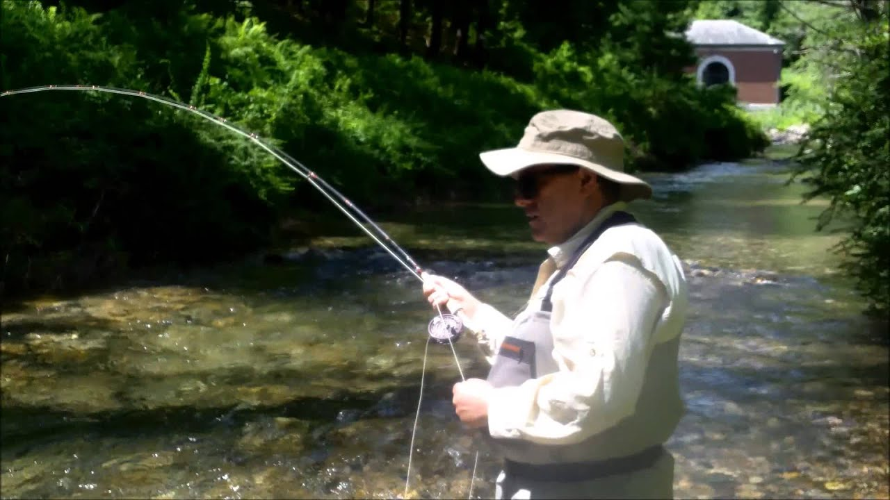 Fly fish swift river ma youtube for Fly fishing massachusetts