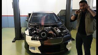 Σοκάρει ο ήχος από το Mitsubishi EVO με τους 2.200 ίππους || eXtreme tuners