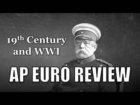 AP Euro Review Live Hangout #4 (19th c., German Unification, WWI)