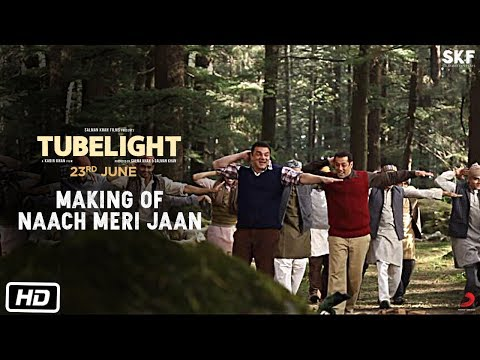 Tubelight | Making Of Naach Meri Jaan | Salman Khan | Sohail Khan | Kabir Khan