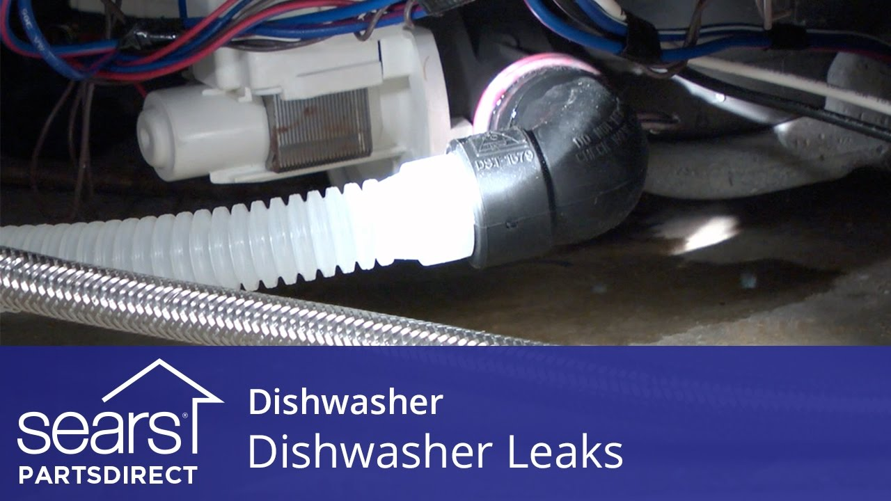 Dishwasher Leaking? All the Easy Fixes You Need to Know - Sears