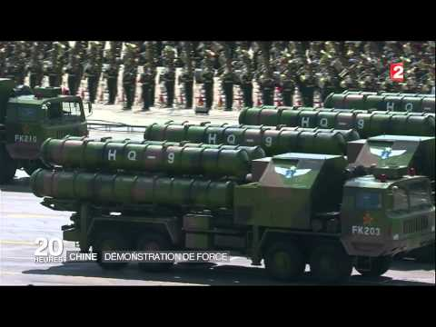 MISSILES DF-21D CHINOIS « TUEURS DE PORTE-AVIONS » défilé du 03/09/2015 ,PEKIN . HD