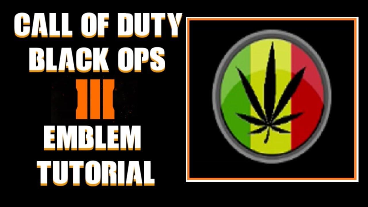 Cod bo3 call of duty black ops 3 cannabis leaf emblem tutorial cod bo3 call of duty black ops 3 cannabis leaf emblem tutorial youtube biocorpaavc