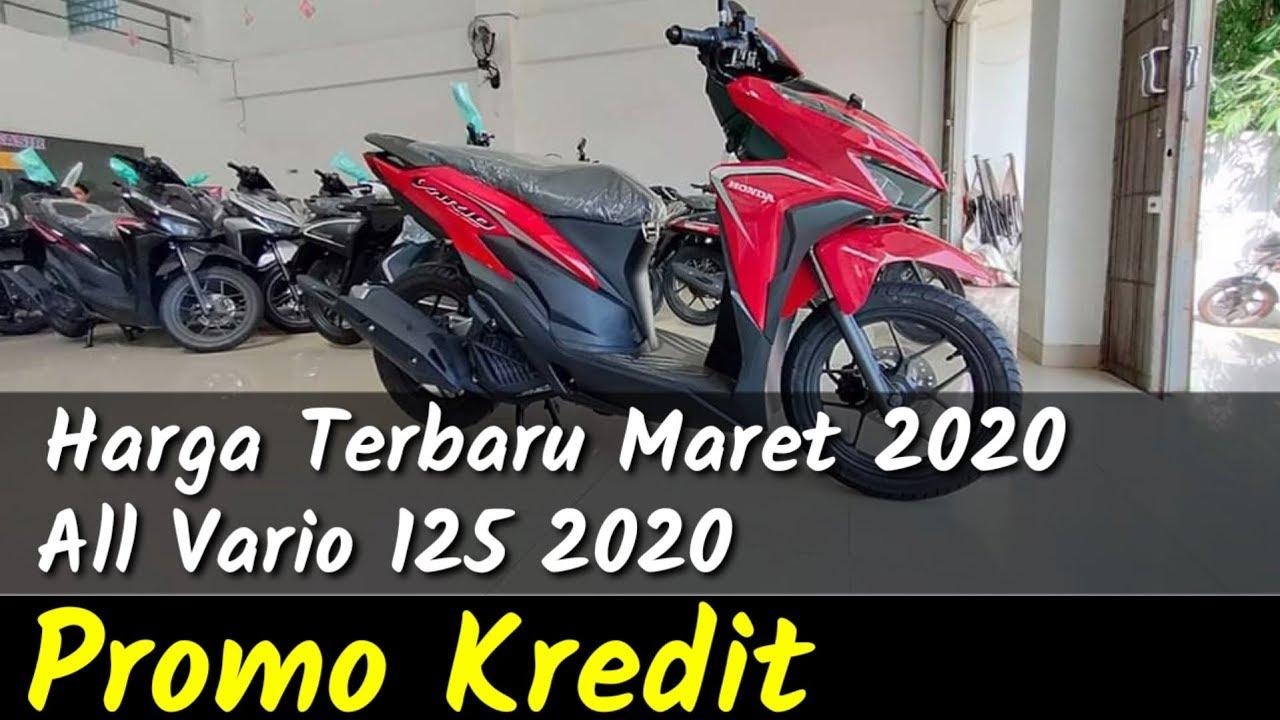Harga Vario 125 2020 Cash Dan Promo Kredit Motor Honda Terbaru Youtube