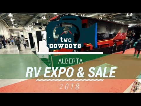 Traveling Cowboys: Highlights From The 2018 Calgary RV Expo And Sale, Calgary, Alberta
