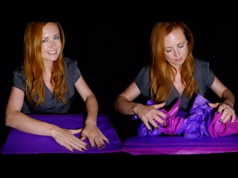 Relaxing Tissue for your Sleep Issue 🌟💤🌟 ASMR Crinkling Pape