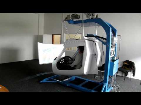Motion platform for flight simulator GP ONE