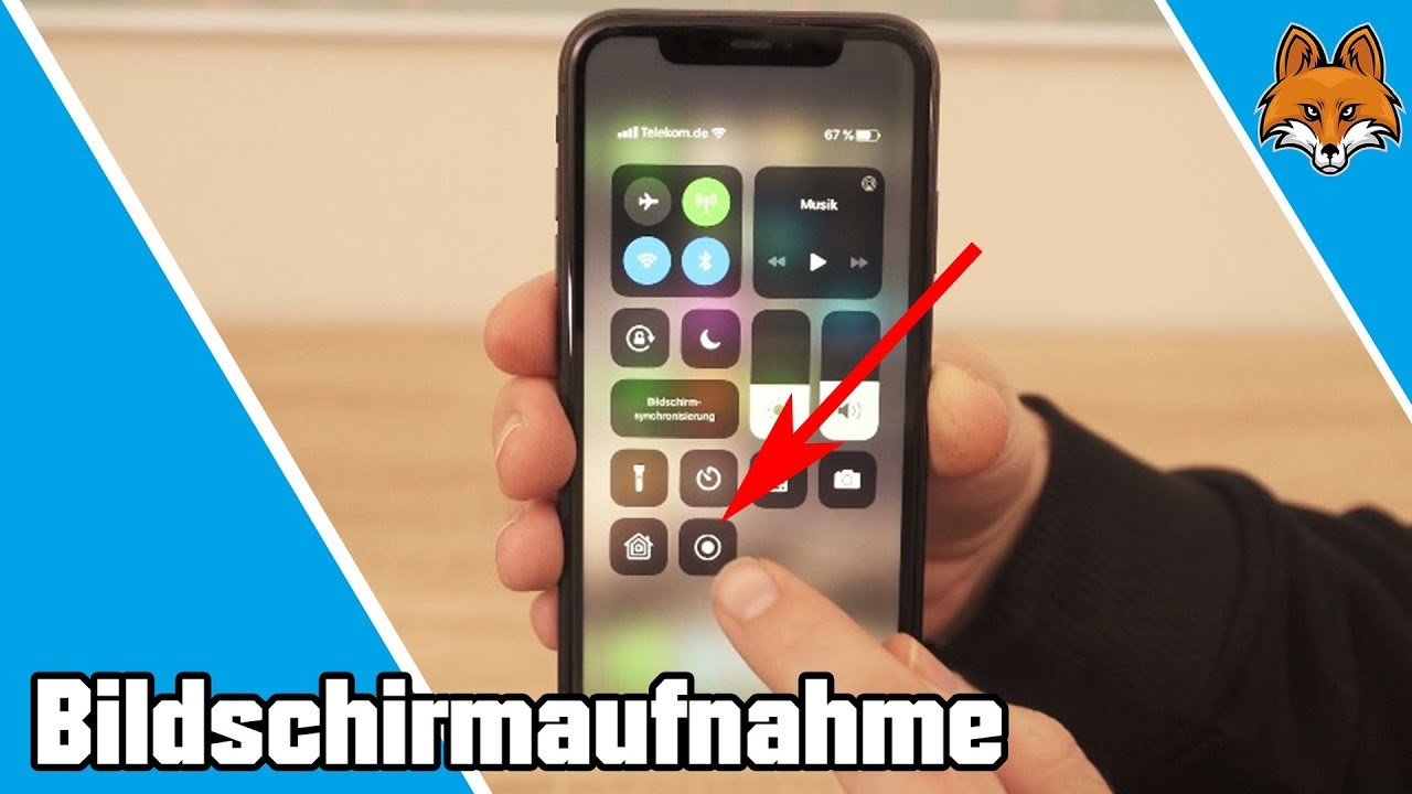 Iphone 11 Bildschirmaufnahme