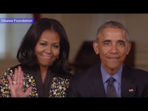 Obamas Goodbye Message as They Leave the White House   ABC News