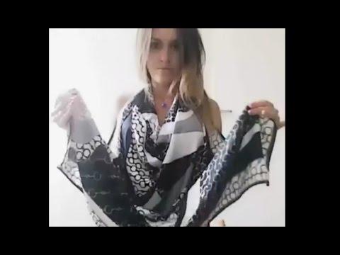 Сам себе дизайнер: Удивительные перевоплощения обычного платка