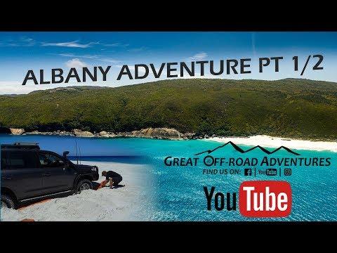 Albany Adventure Pt 1/2 - Beach, 4x4, Overland - E3 - 2018