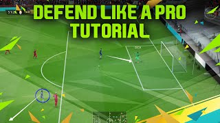 FIFA 16 DEFENDING TUTORIAL - DEFEND LIKE A PRO TRICK + HOW TO PRESSURE & START FAST COUNTER ATTACKS