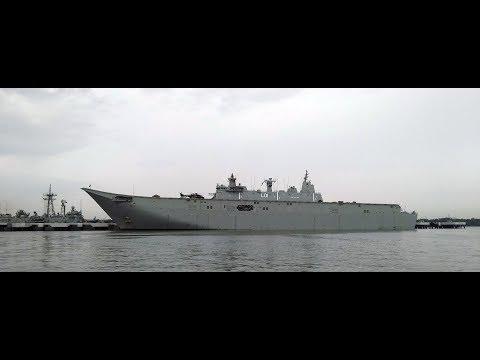 HMAS Adelaide In Malaysia
