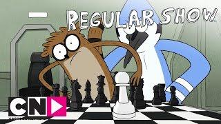 Обычный мультик | Мордекай, Ригби и Мозг | Cartoon Network